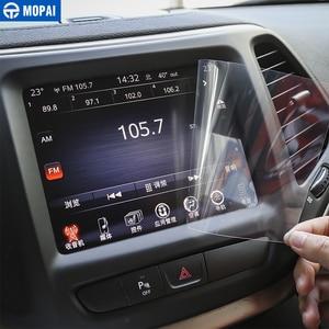 Image 1 - MOPAI Auto Aufkleber für Dodge Challenger 8,4 Zoll Auto GPS Navigation Display schutzfolie für Dodge Challenger Auto Zubehör