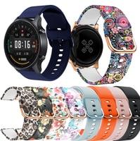 Cinturino in Silicone per Xiaomi Mi Watch Color Smart Watch cinturino di ricambio cinturino Correa per Huami Amazfit GTR 2 GTR2 bracciale