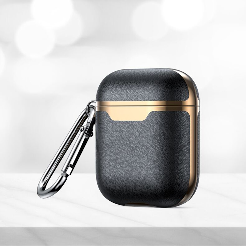 Luxury Super TPU Leather Earphones Case For Apple AirPods Pro 3 2 Cover Case Earphone Headphones Earbud Protective Coque Funda