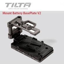 Tiltaing vマウントバッテリーベースプレートbmpccためV2 4 18k/6k tiltaグレーTA BSP2 V G