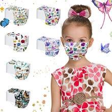 Máscara facial respirável criança moda camuflagem máscara descartável proteção máscara respirável máscara en tissu lavable mascherina