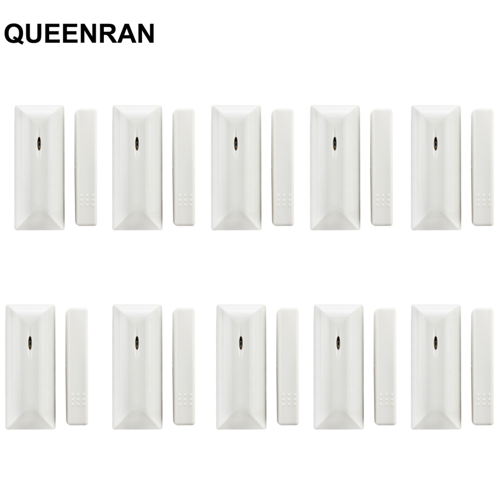 10pcs MD-210R 433MHz Magnetic Contact Door Window Detector For ST-VGT, ST-V, ST-IV, ST-3B, ST-IIIGW Home Security Alarme Maison