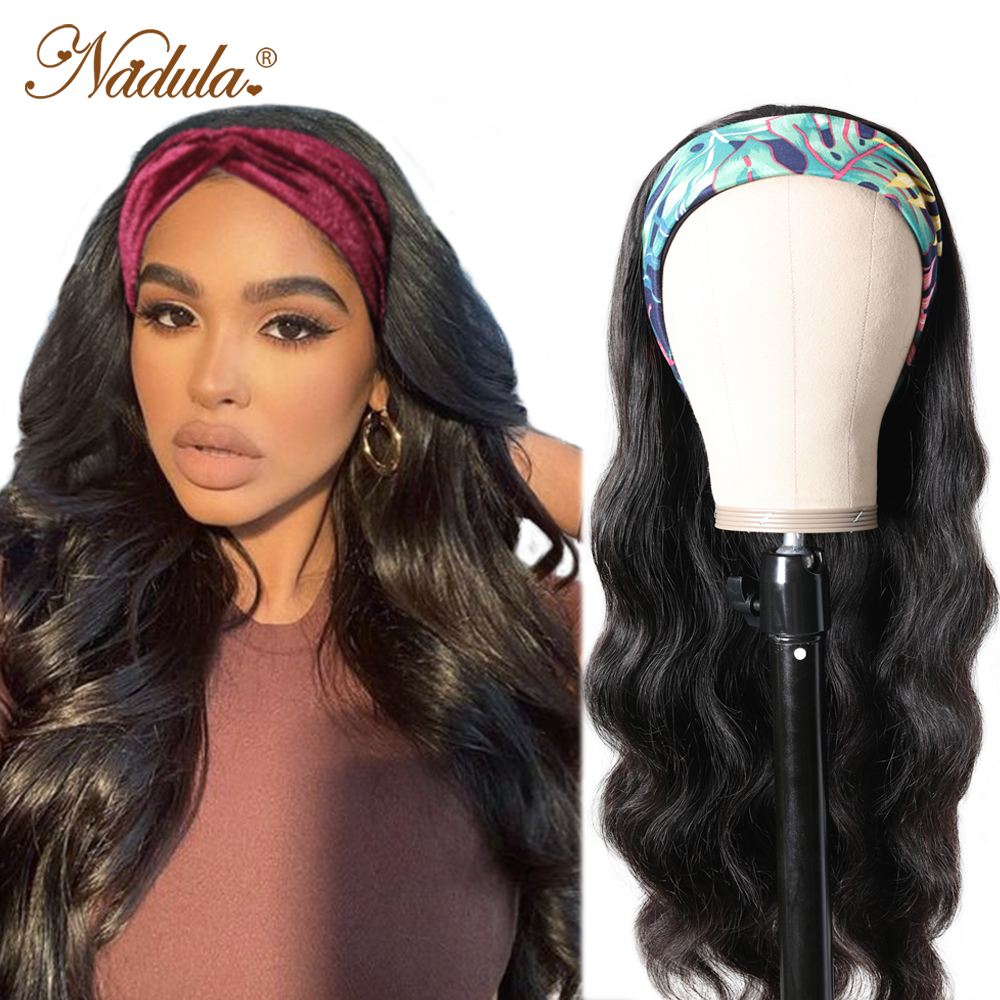 Body Wave Headband Wig No GLUE Headband Wig  for Black Women Nadula Hair Wigs Best and Easiest For Beginners 1