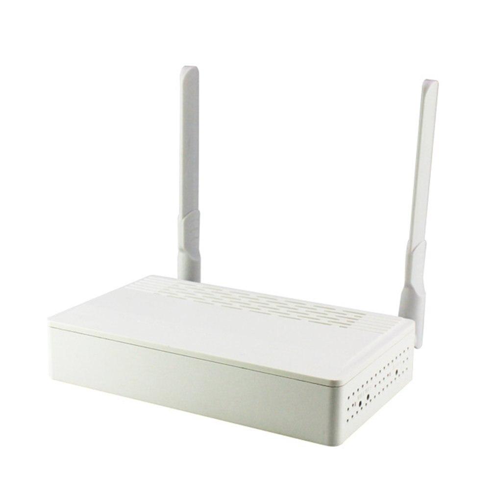 Le Terminal EPON ONU à deux ports avec 1G1F + WIFI + CATV + 1POTS s'applique au routeur de Modem à Fiber optique Mini Mode FTTH