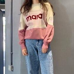 woman hoodies runway high quality 2020 long sleeve cotton sweatshirts female
