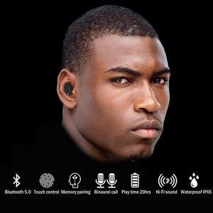 Image 2 - [השתפר] TENNMAK אמיתי אלחוטי אוזניות TWS06   Bluetooth 5.0 סטריאו Hi Fi צליל עם בס עמוק אלחוטי אוזניות