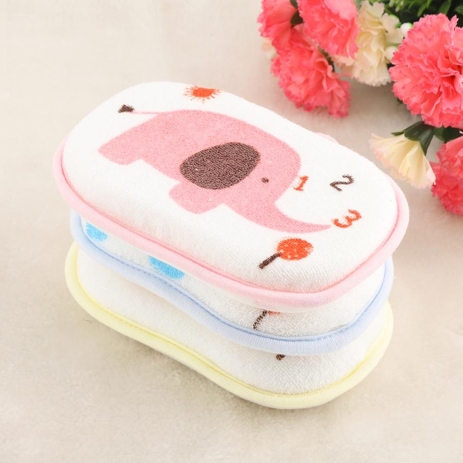 Baby Shower Bath Brushes Sponge Soft Towel Cotton Rubbing Body Wash Children Brush Bath Brushes Baby Towel Accessories 2019