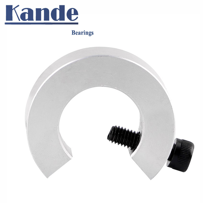 Fixed ring large opening type for SBR12 SBR16 Stop Collar positioner SCH aluminum alloy surface anod