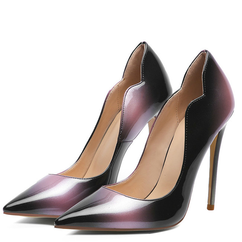 YECHNE Sexy women High heels Shoes Bridal pumps Plus Size 33-43 Fashion Sexy Party Punch pumps Stiletto 2020
