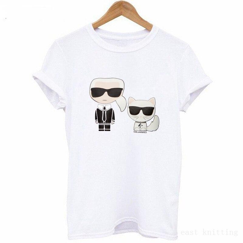 T Shirt Women Cat Unisex Summer Vogue Short Sleeve Funny T Shirts Harajuku Tumblr Tshirt Femme
