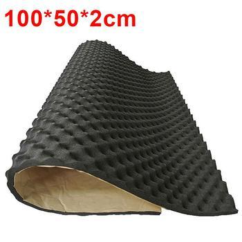 100/50x50cm Car Sound Deadener Mat Sound Deadening Noise Insulation Acoustic Dampening Foam Subwoofer Mat autos Accessories