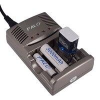 Carregador de bateria recarregável do carregador 9v nimh do aaa de palo 1.2v aa para a bateria de 1.2v aa aaa 9v nicd nimh