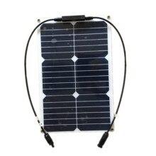 RG 20 Вт 18 в гибкие солнечные панели DIY Крокодил зажим разъем высокая эффективность