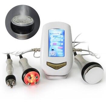 AOKO 40KHZ cavitación ultrasónica cuerpo adelgazar máquina de belleza RF dispositivo masajeador Facial apretar la piel cara elevación herramienta de cuidado de la piel