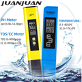 Digital PH Meter 0.0-14.0 PH TDS EC Meter 3 In1 Temperature Tester 0-9000 ppm Water Quality Automatic Monitor Tool 48% off