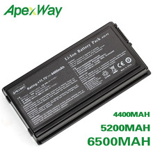 ApexWay 6 Cell Batteria per Asus F X Serie X50 X50C X50GL X50M X50N X50VL X59 X59Sr X50Sr X50V F5VL f5Z(China)