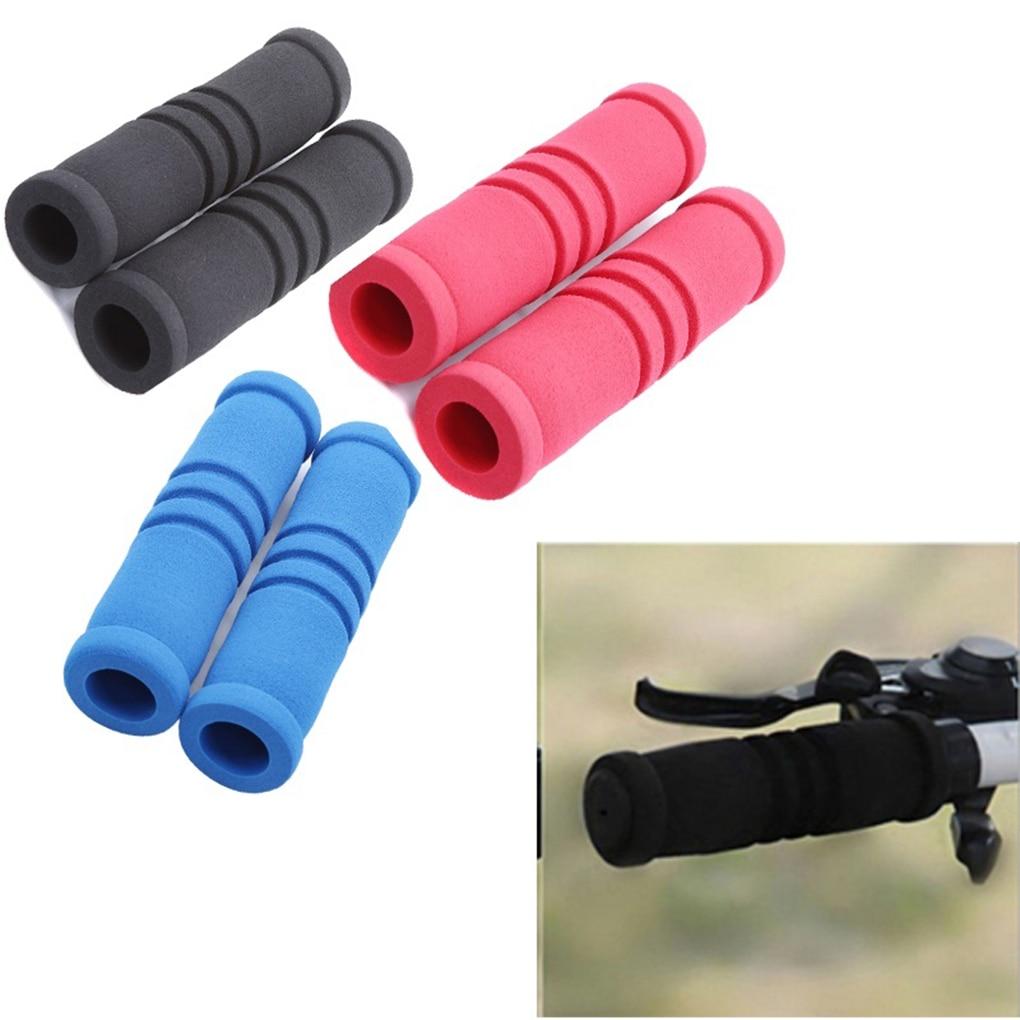 Bicycle Grips Anti-skid Handlebar Soft Foam Sponge Grips For MTB BMX Fixed gear