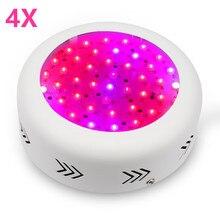 4 sztuk Full Spectrum UFO 150W oświetlenie LED do uprawy W pomieszczeniach do kwiatów hydroponiczne rośliny warzywa rosną namiot wzrost lampy hurtownie