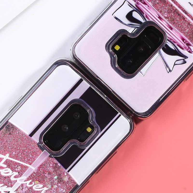 Sıvı Glitter samsung kılıfı Galaxy A50 A70 A5 A7 A8 2018 Dinamik samsung kılıfı J3 J5 J7 Pro A3 A5 A7 2016 2017 TPU kapak