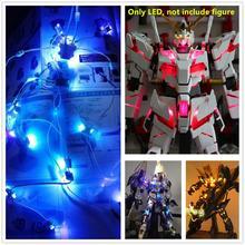 Daban BGM Unidad LED de control remoto para Daban Bandai PG 1/60, RX 0, unicornio, BANSHEE, PHENEX, Gundam, DD062