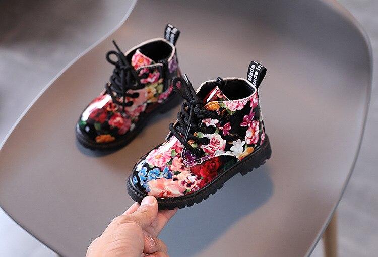 Crianças 2021 martin botas para meninas, botas