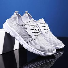 Plus Size Breathing Sports Man Shoes Running Sneakers Women