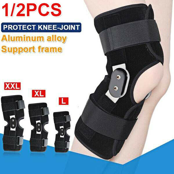 Sports Knee Support Adjustable Hinged Knee Patella Support Brace Sleeve Wrap Cap Stabilizer Sports