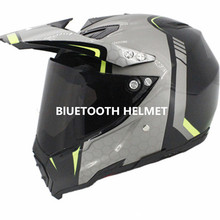 bluetooth helmet motorcycle 2018 DOT BT speakers motocross listen to music link