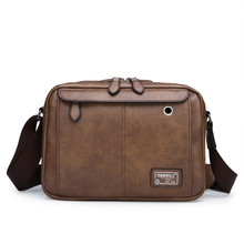 Trend New Fashion Mens PU Leather Shoulder bag Casual Envelope Bag Classic postman package Free Shipping ZX-071.