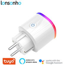 Lonsonho Wifi Smart Plug Tuya Smart Socket Smartlife Uni Eropa Perancis US AU Inggris Polandia Korea Plug Kompatibel Alexa Google Home mini(China)