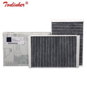 Image 1 - Cabin Filter A2218300038 2 Pcs For Mercedes Benz S CLASS W221 S 250 280 300 320 350 400 450 500 600 S63 S65 AMG 2006 2013 Model