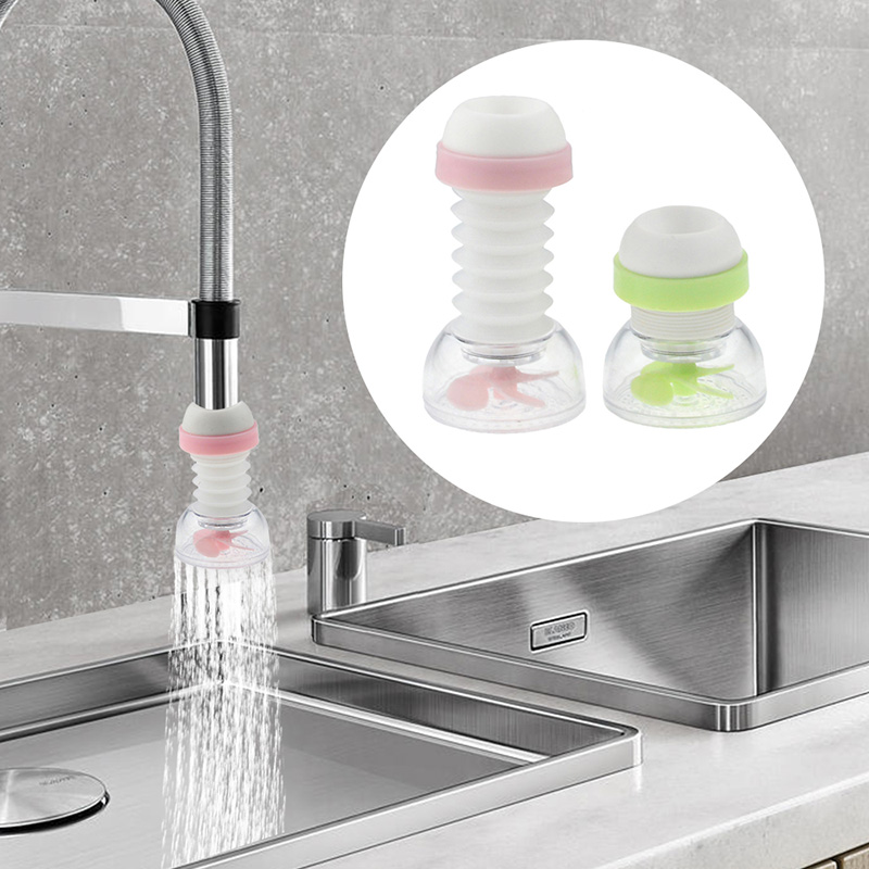 Kitchen Faucet 360 Adjustable Water Filter Diffuser Water Saving Nozzle Faucet Connector Bathroom Shower Splash Shower Filter