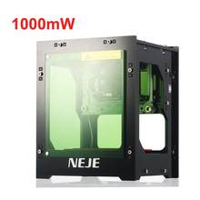 1000mW Micro Laser Engraver Engraving Marking Machine Router Cutter Printer for Wood / Rubber / Leather(China)