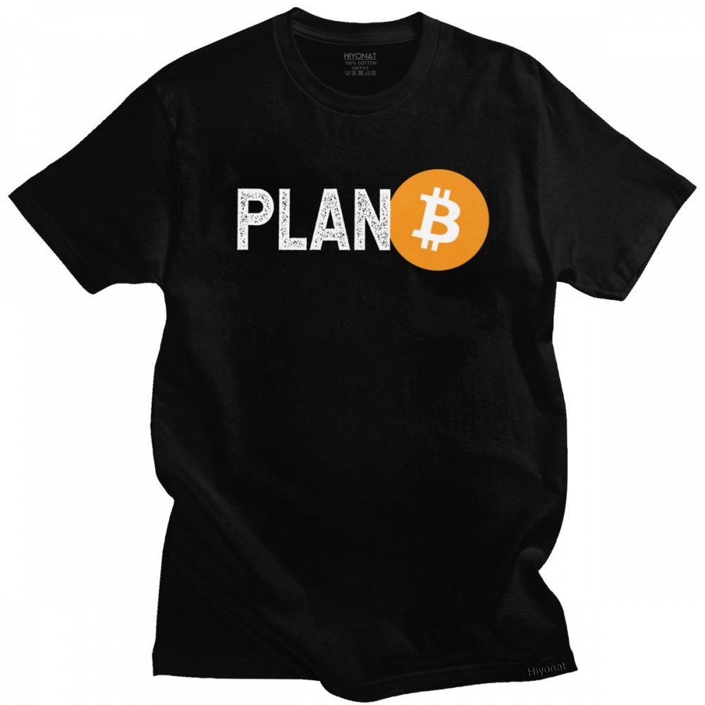 T-shirt Bitcoin Plan B
