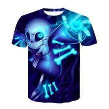 Camiseta con estampado 3D de Alien blanco para hombre y mujer, ropa divertida de talla grande, informal, grunge, tumblr, gótico, nueva moda