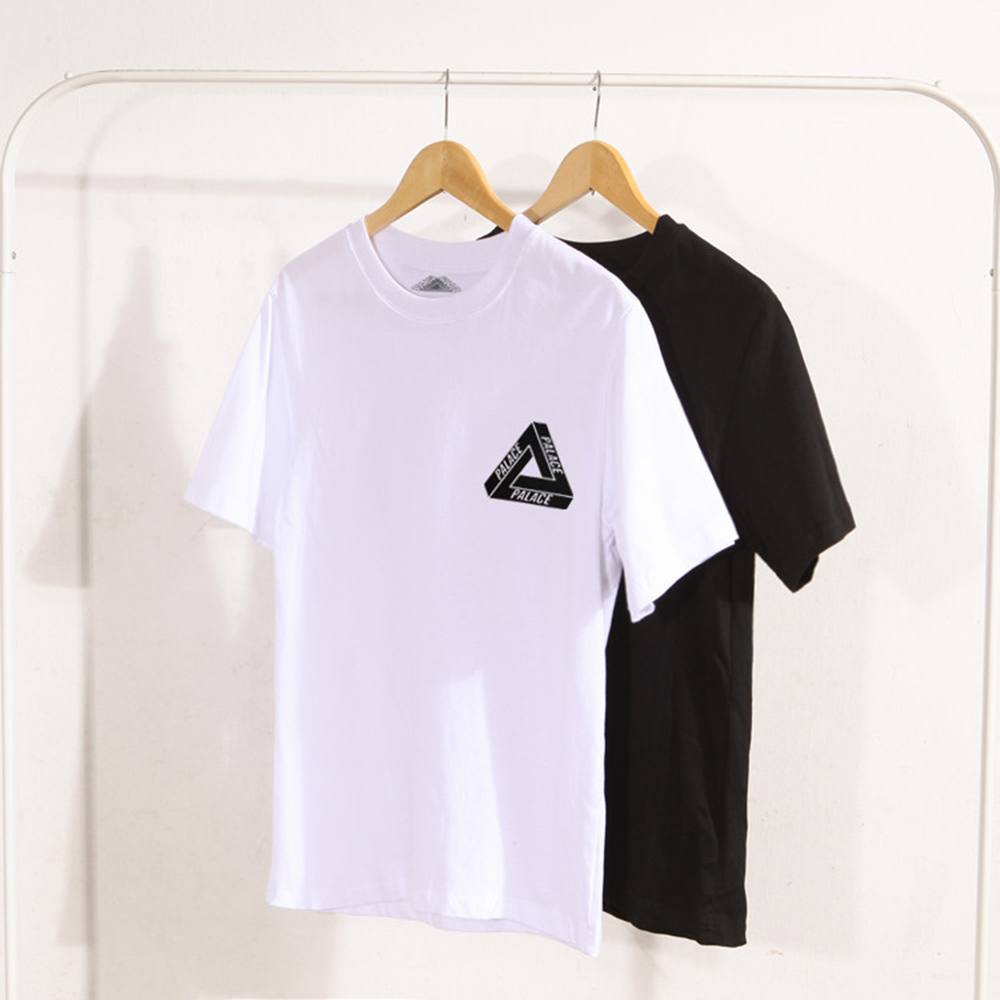 2019 Summer New Style Popular Brand Cotton Short Sleeve Palace Stylish Fashion For Men And Triangular Short Sleeved T-shirt