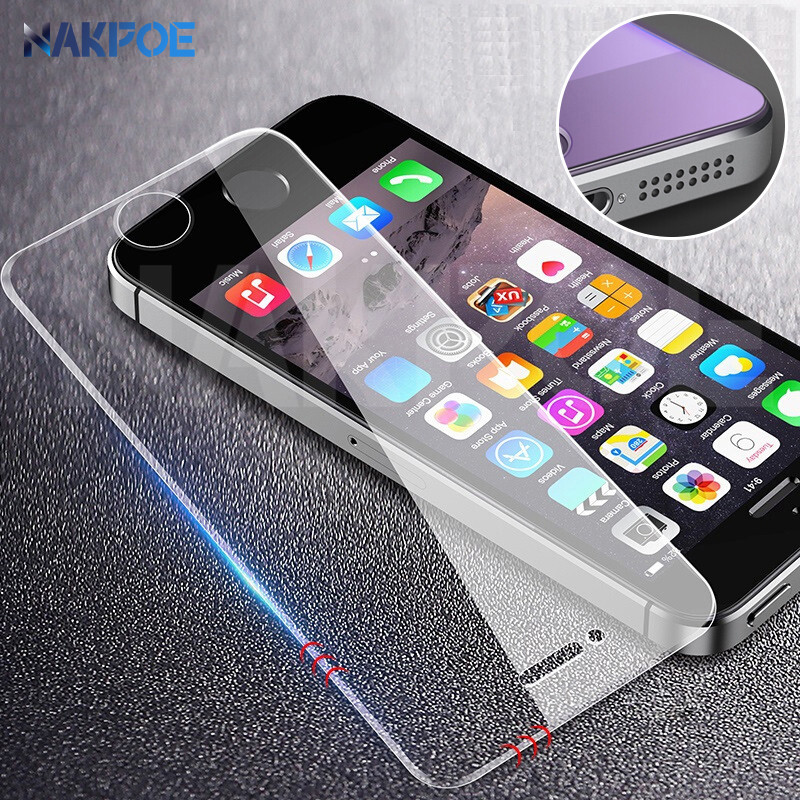 9D Protective Glass On The For IPhone 5S 5 5C SE Tempered Screen Protector Safety Glass For Apple IPhone SE SE 4 Protection Film