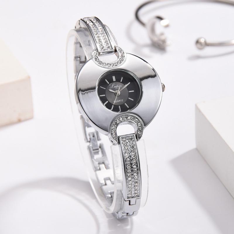 Lvpai Top Brand Luxury Women Watch Casual Ladies Watch Fashion Bracelet Watch Dress Rhinestone Quartz Watches Female Clock Reloj