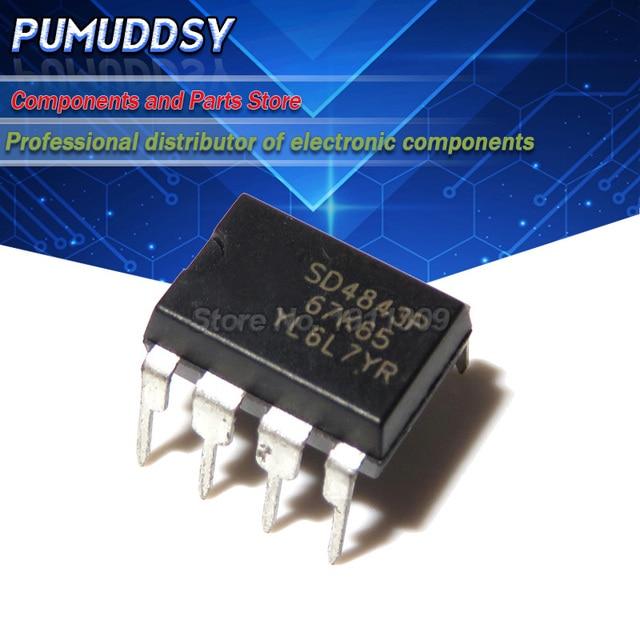 10PCS SD4843P SD4843P67K65 DIP 8 IC
