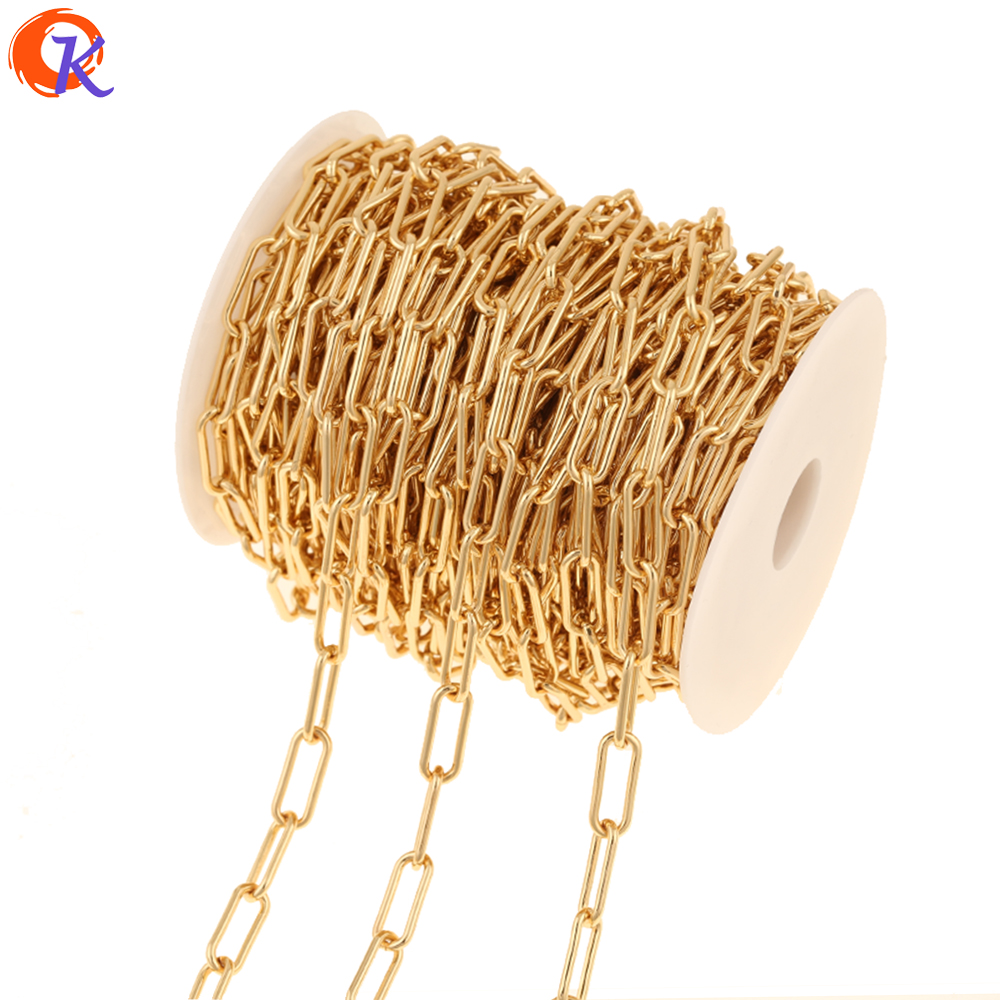 Cordial Design 3M/Lot Jewelry Accessories/Chain For Necklace/Genuine Gold Plating/DIY Chains/Hand Made/Gold Chains Findings