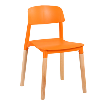 Nordic solid wood dining chair modern minimalist fashion coffee  negotiating table and  tea  dessert shop
