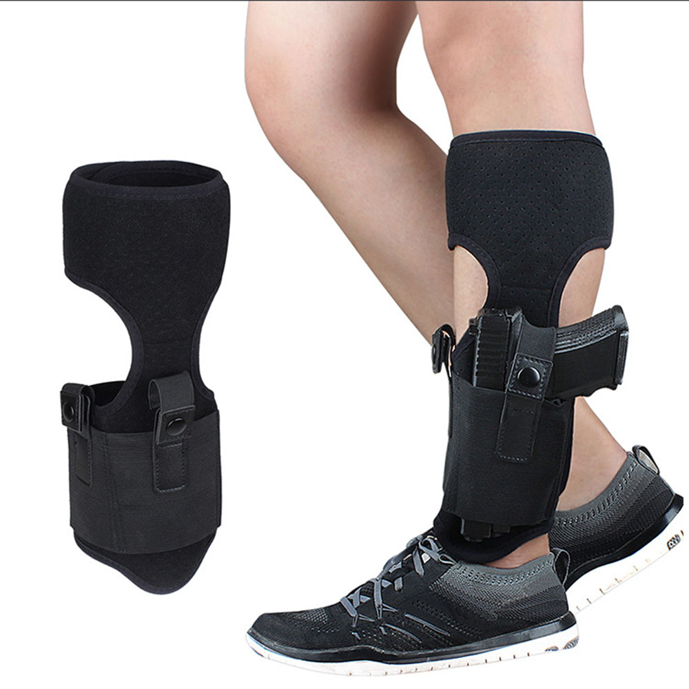 Ultimate Concealed Ankle Leather Shield