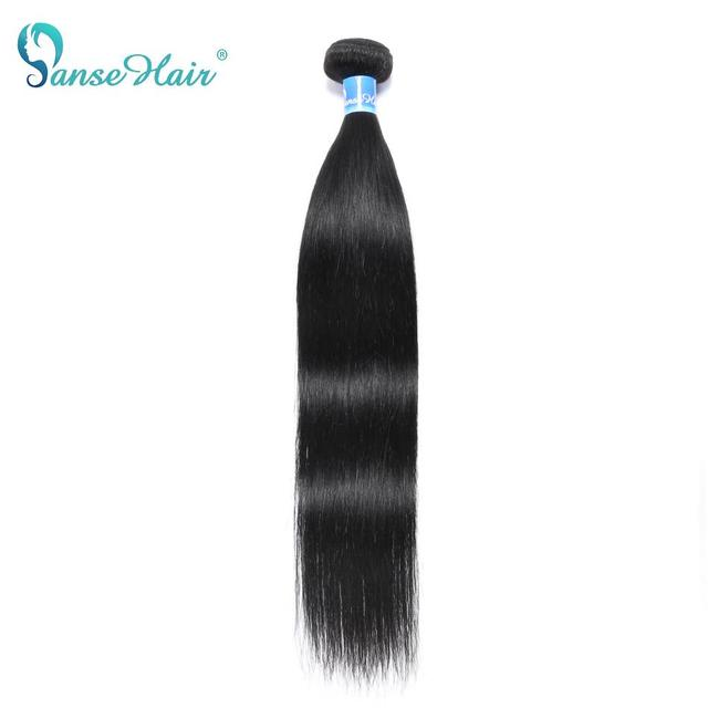 Panse Hair Malaysian Hair Human Hair Extensions Straight Hair Customized 8 30 Inches Non Remy Can be Dye Color 1B 1PCS Per Lot