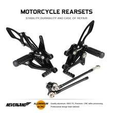 Мотоцикл footrests ножной Мотор велосипед cnc всадник задний