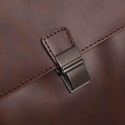 2020 nowa luksusowa skóra bydlęca męska teczka biznesowa męska teczka na ramię torba męska torba Tote torebka na komputer