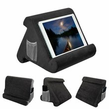 Buy Laptop Holder Tablet Pillow Foam Lapdesk Multifunction Laptop Cooling Pad Tablet Stand Holder Stand Lap Rest Cushion for Ipad directly from merchant!