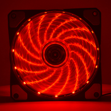 Fan Silent Computer-Case Desktop 120mm Screw Led-Light Emitting Mute 100pcs Red-Color