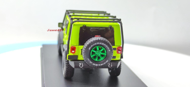 Greenlight-modelo de carro 2016 jeep wrangler, super