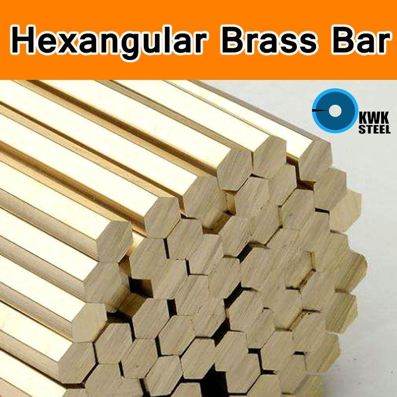Brass Hexangular Bar Rod Grade Of ASTM C28000 CuZn40 CZ109 C2800 H59 H62 Bars Shaft Stick Cu DIY Material CNC Mould Six Angle
