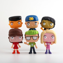 6pcs Hot Sale Luccas Action Figure Doll Action Figure Toy Luccas Neto Gi Vinyl Model Figure Doll Toys 10cm Children Gift 6pcs lot trolls poppy branch biggie action figure toys cartoon moive brinquedos dreamworks trolls hug time poppy figure doll toy